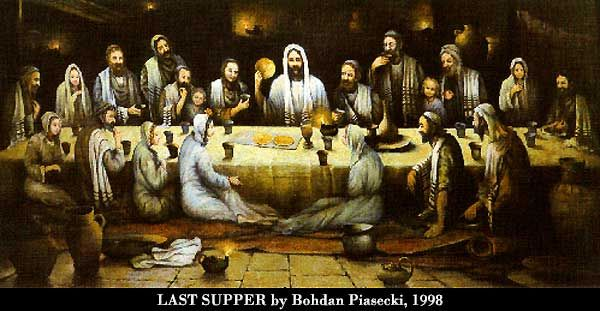 "Holy Thursday ""Bohdan Piasecki who created the Last Supper"