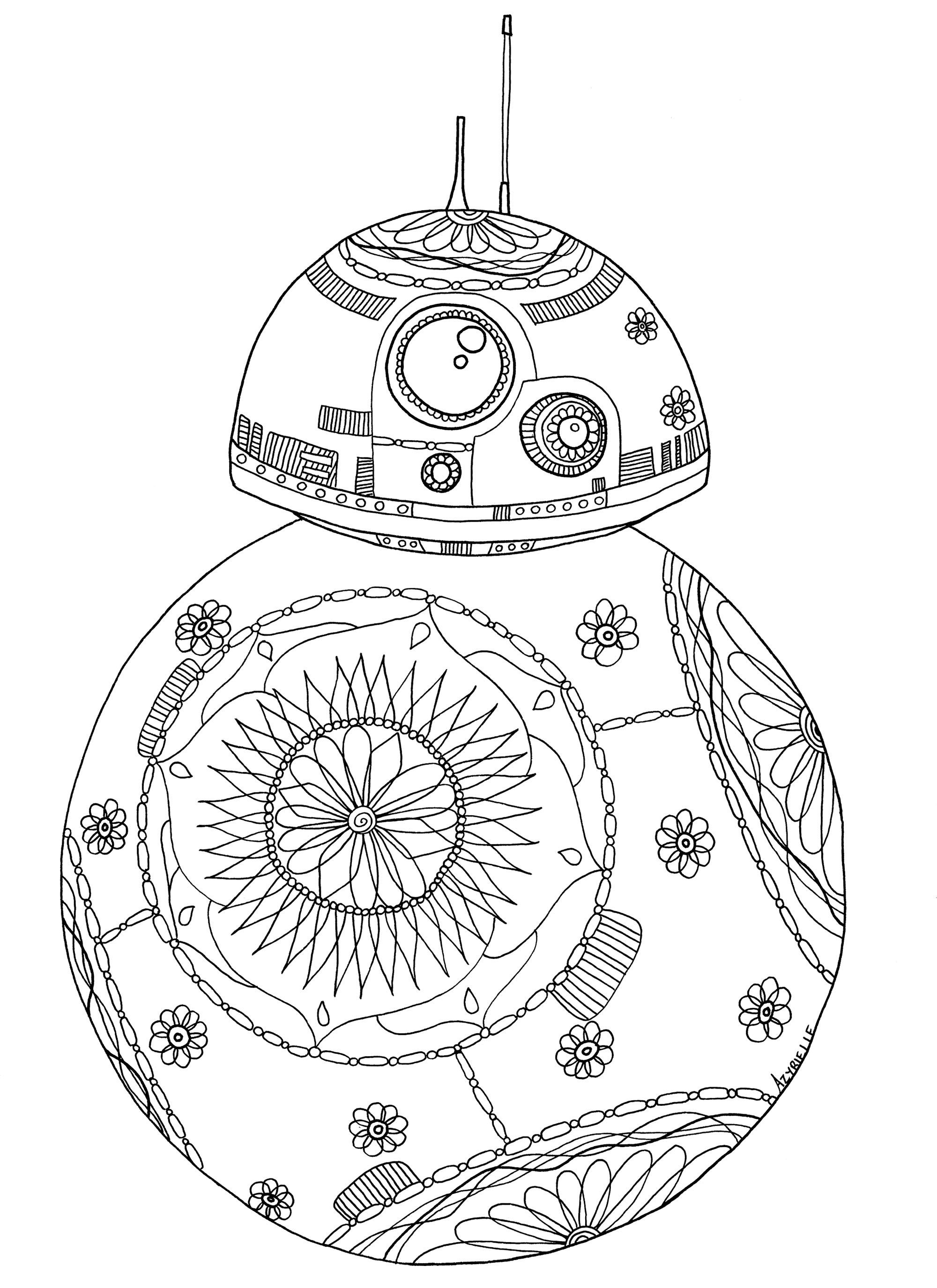 25 Awesome Photo Of Bb8 Coloring Page Star Wars Coloring Book