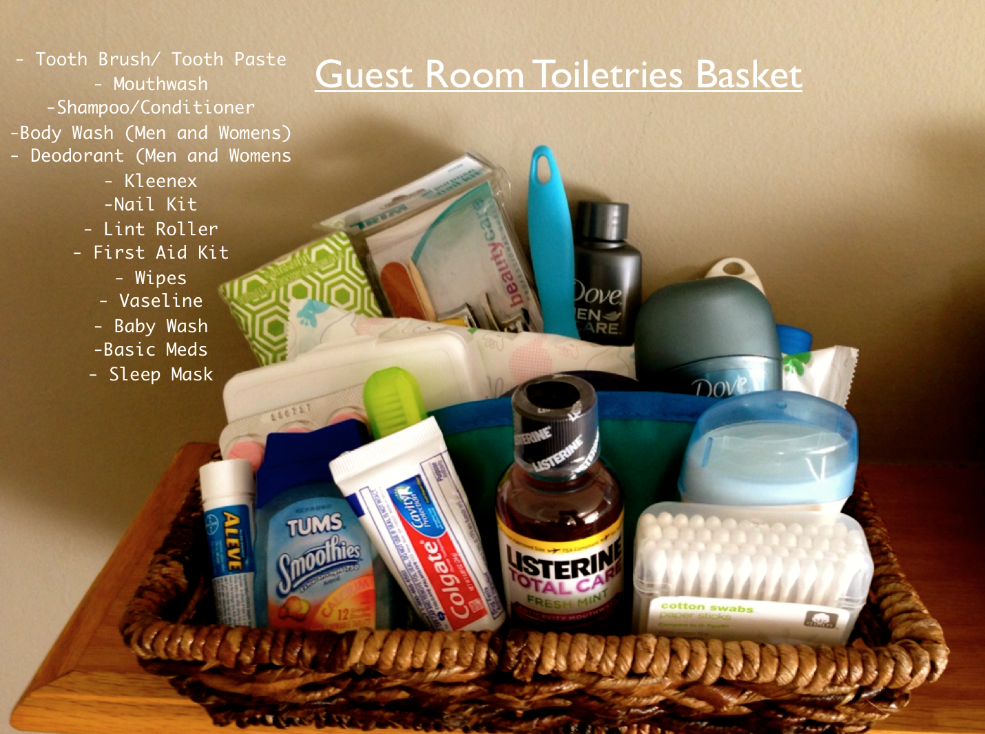 Guest Room Toiletries Basket Guest Room Baskets Guest Room House Guest Gifts
