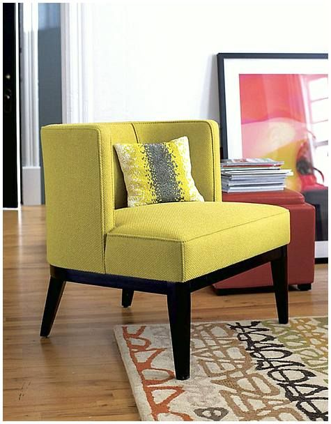 Now It Is Time For New Vibe With Mustard Yellow Accent Chair Will