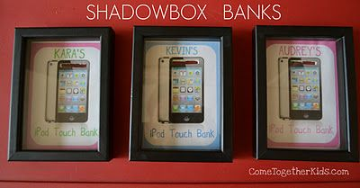 Shadowbox Banks. great idea.
