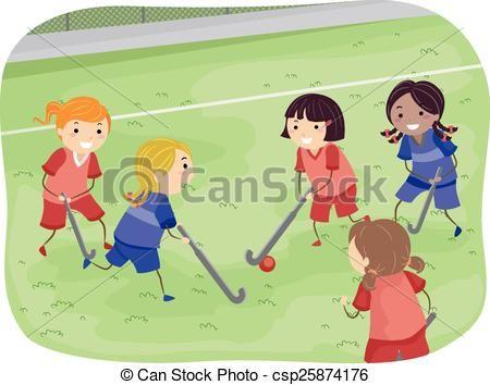 Vector Stickman Girls Field Hockey Stock Illustration Royalty Free Illustrations Stock Clip Art Icon Stock Cl Art Icon Drawing Images Free Illustrations