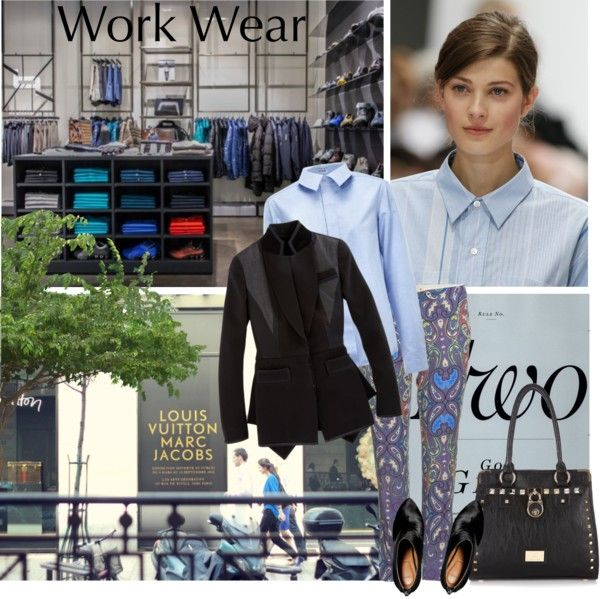 """Work Wear"" by lacas ❤ liked on Polyvore"