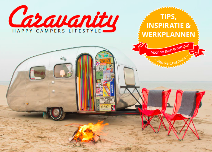 The new cover of the Caravanity book. With 32 extra pages of tips, plans and inspiration. Pre order now. Out march 2015.