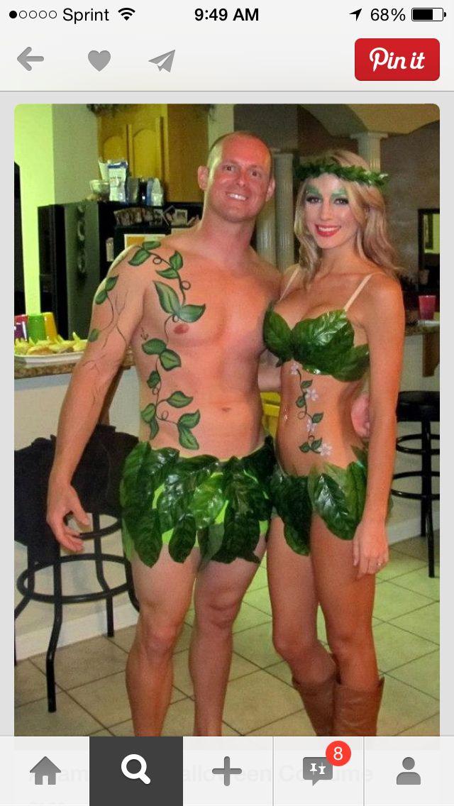 Adam and Eve  sc 1 st  Pinterest & Adam and Eve | Costumes! | Pinterest | Costumes Halloween costumes ...