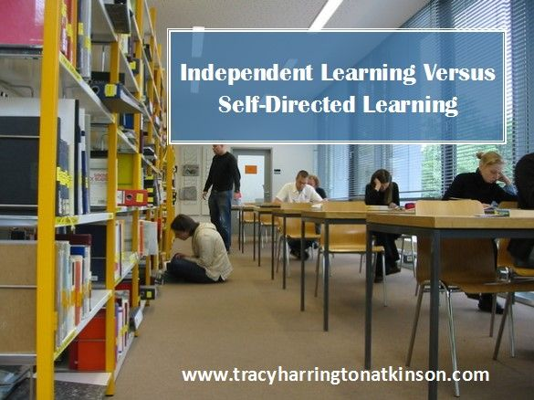. . .implore educators and scholars to succinctly differentiate terms in order to develop and understand the self-directed learning process associated with each label.