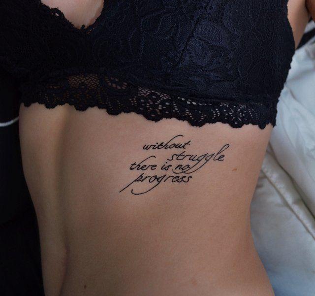 Progress Temporary Tattoo By Tattify Tattoos Writing Tattoos