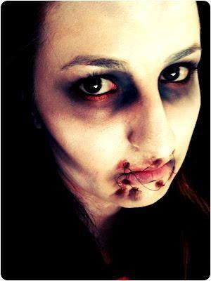 halloween tutorial dead girl scary halloween makeuphalloween - Scary Halloween Eye Makeup