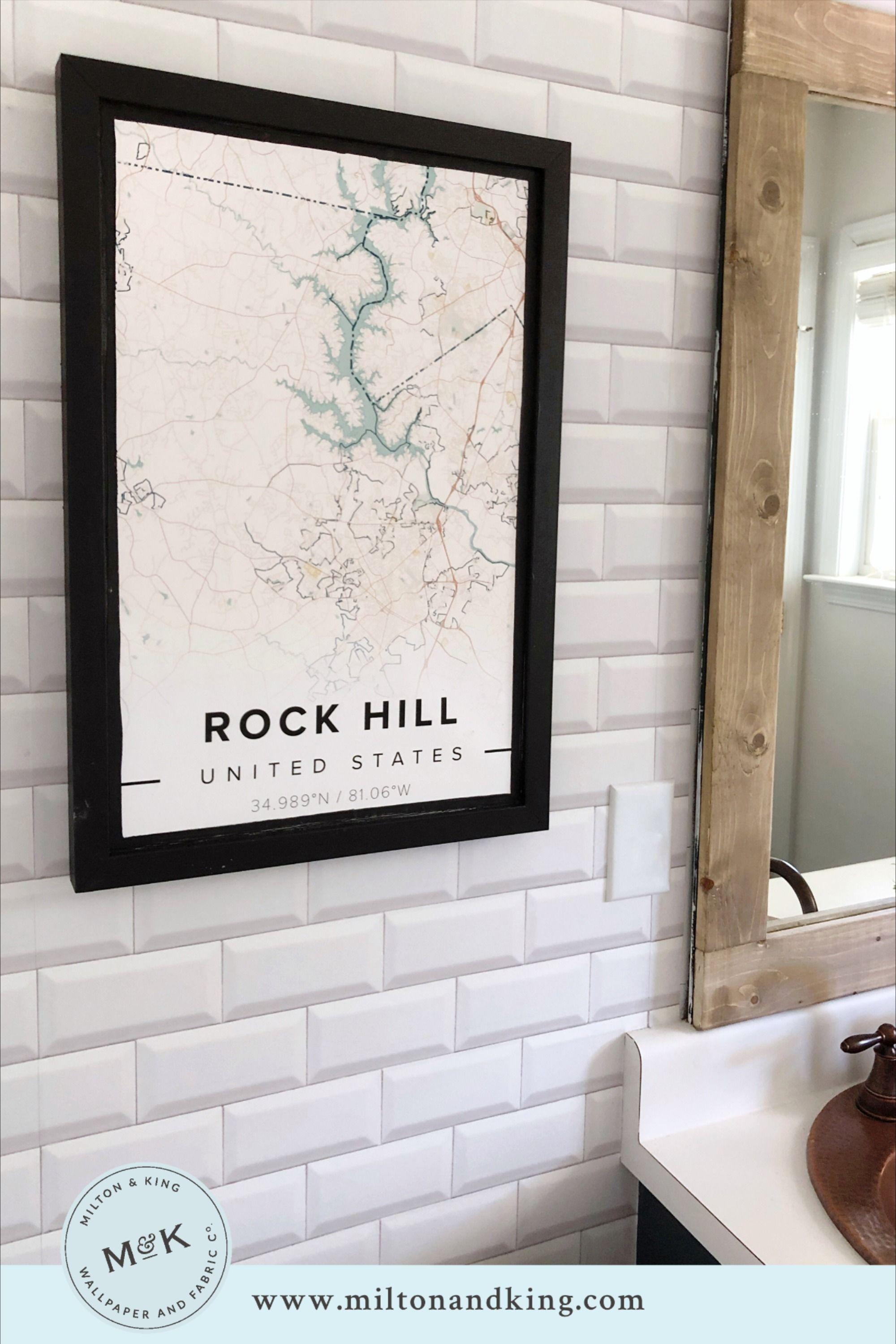 White Subway Tiles Wallpaper Minimal Wallpaper Milton King In 2021 Tile Wallpaper White Subway Tiles Subway Tile Design