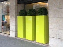 Planters at height of man