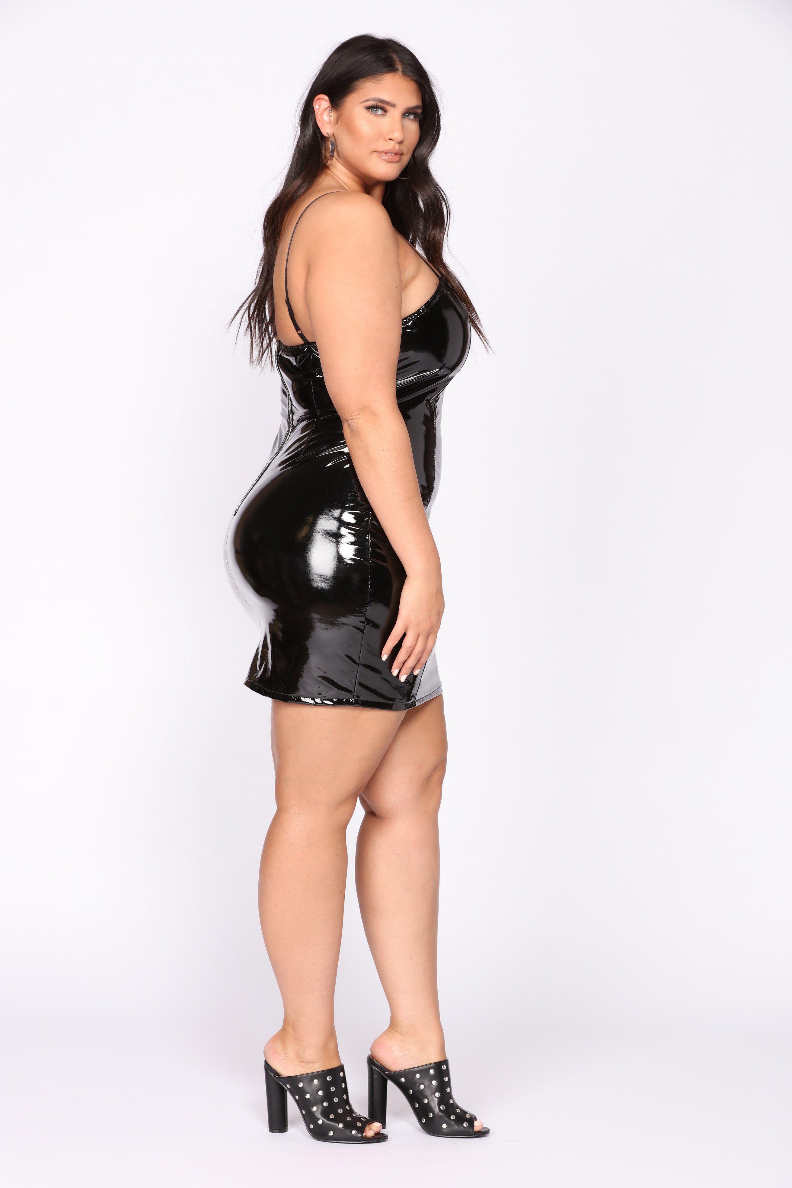 8c8b8f67ae Latecia Thomas Curvy Plus Size, Plus Size Model, Latex Dress, Voluptuous  Women,