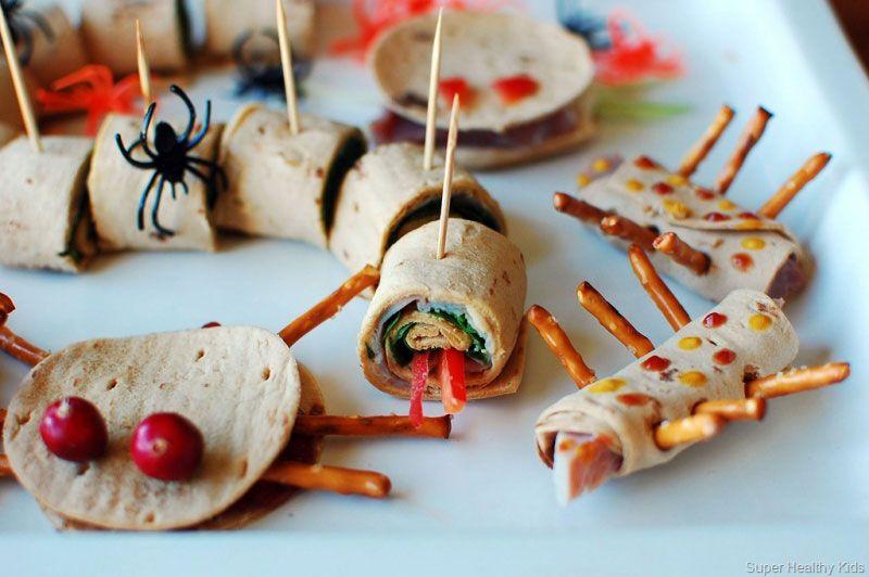13 HEALTHY HALLOWEEN TREATS Halloween Party Pinterest Healthy