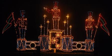 Winter Wonderland Lights With Images Holiday Lights Display Christmas Lights