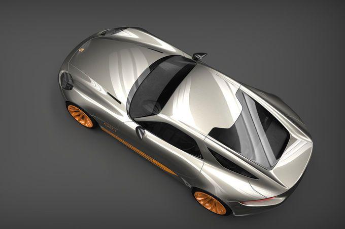 Porsche 921 Design Projekt Virtueller 928 Nachfolger Porsche