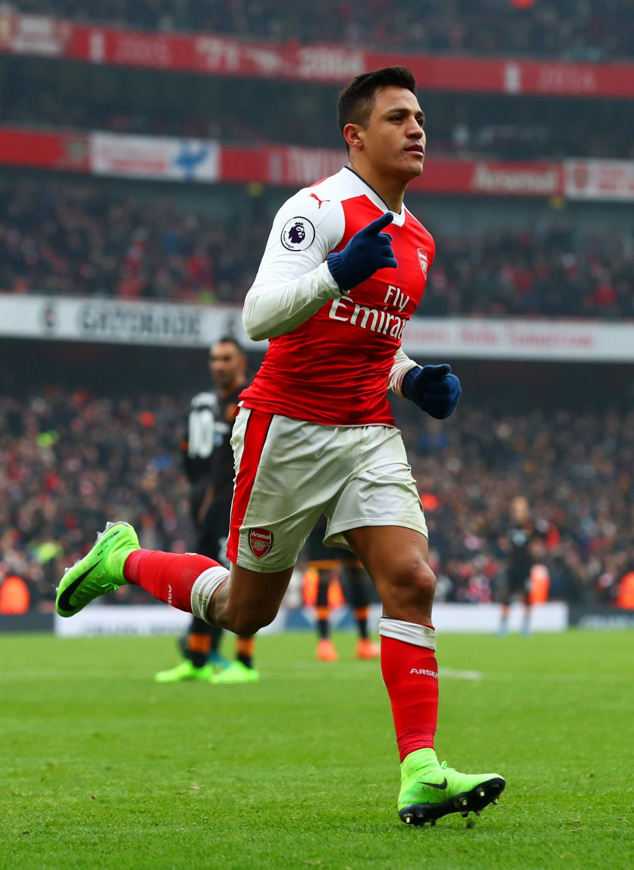 TheArsenal AlexisSanchez Arsenal 9ine Hull city