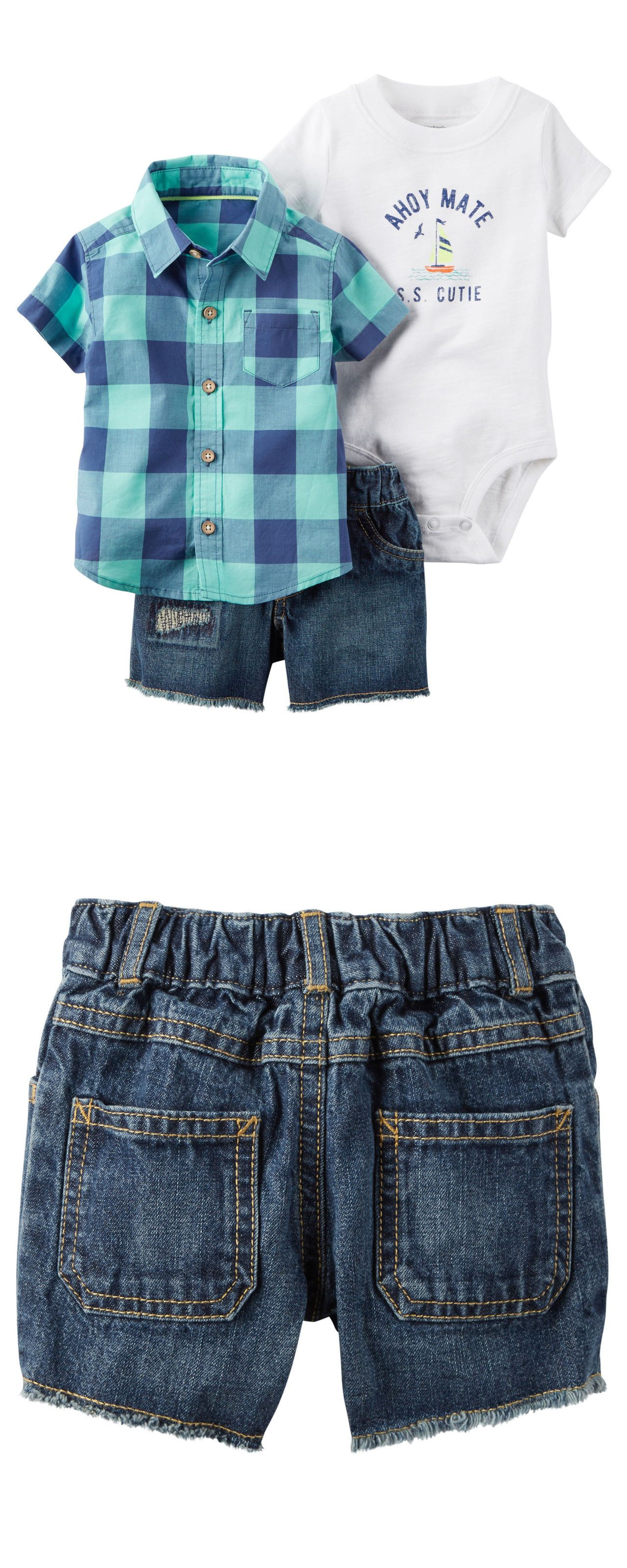 Outfits and Sets Carters Nb 3 6 9 12 18 24 Months Shirt