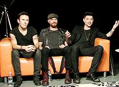The Script live google hangout today -it was perfect♥
