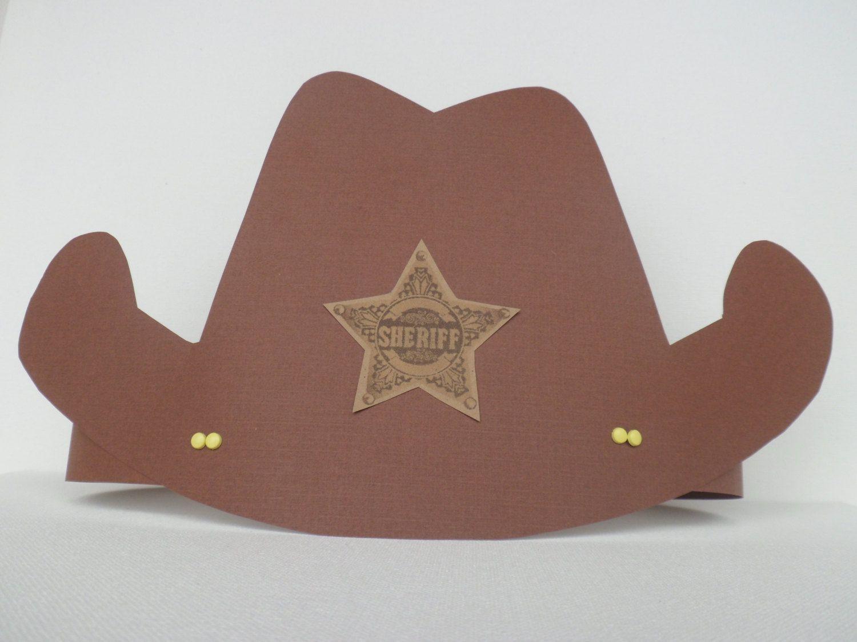 Cowboy party hat.  6.99 b5692cfab54