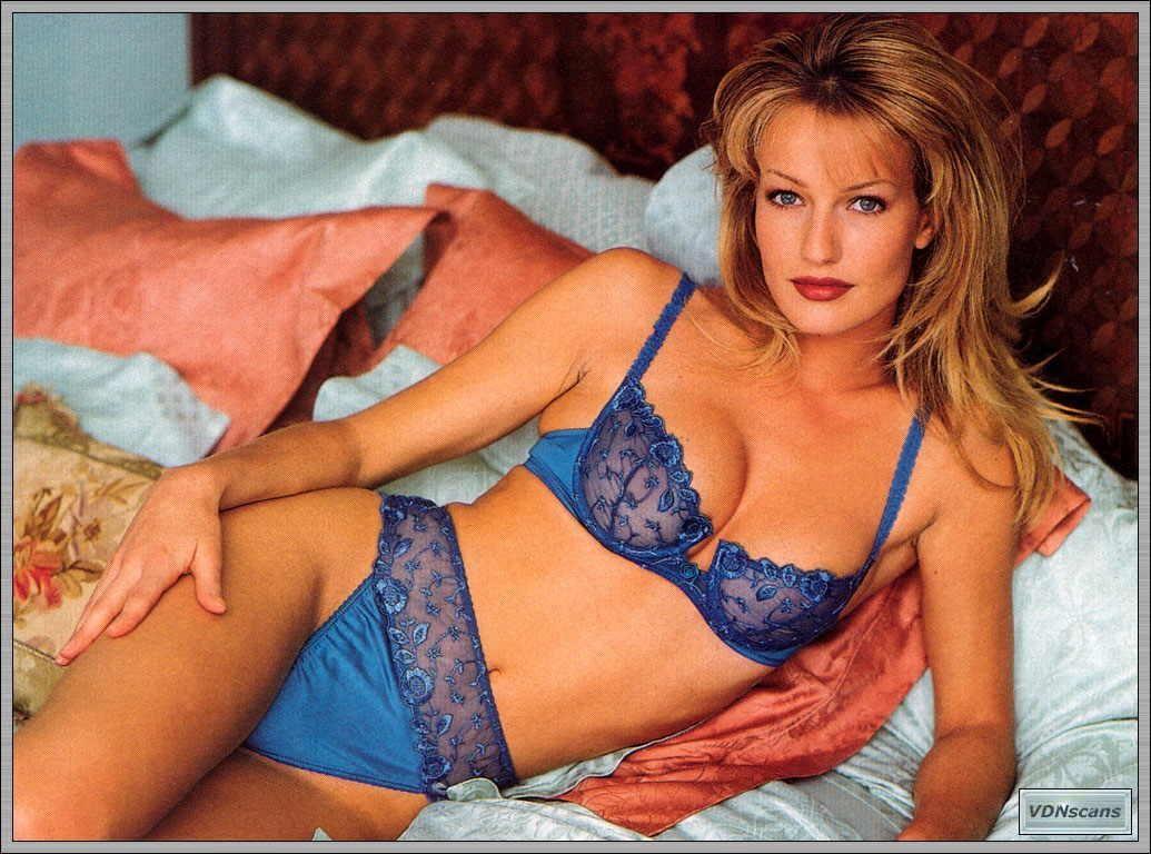 Karen Mulder Classic Vintage Victorias Secret Satin