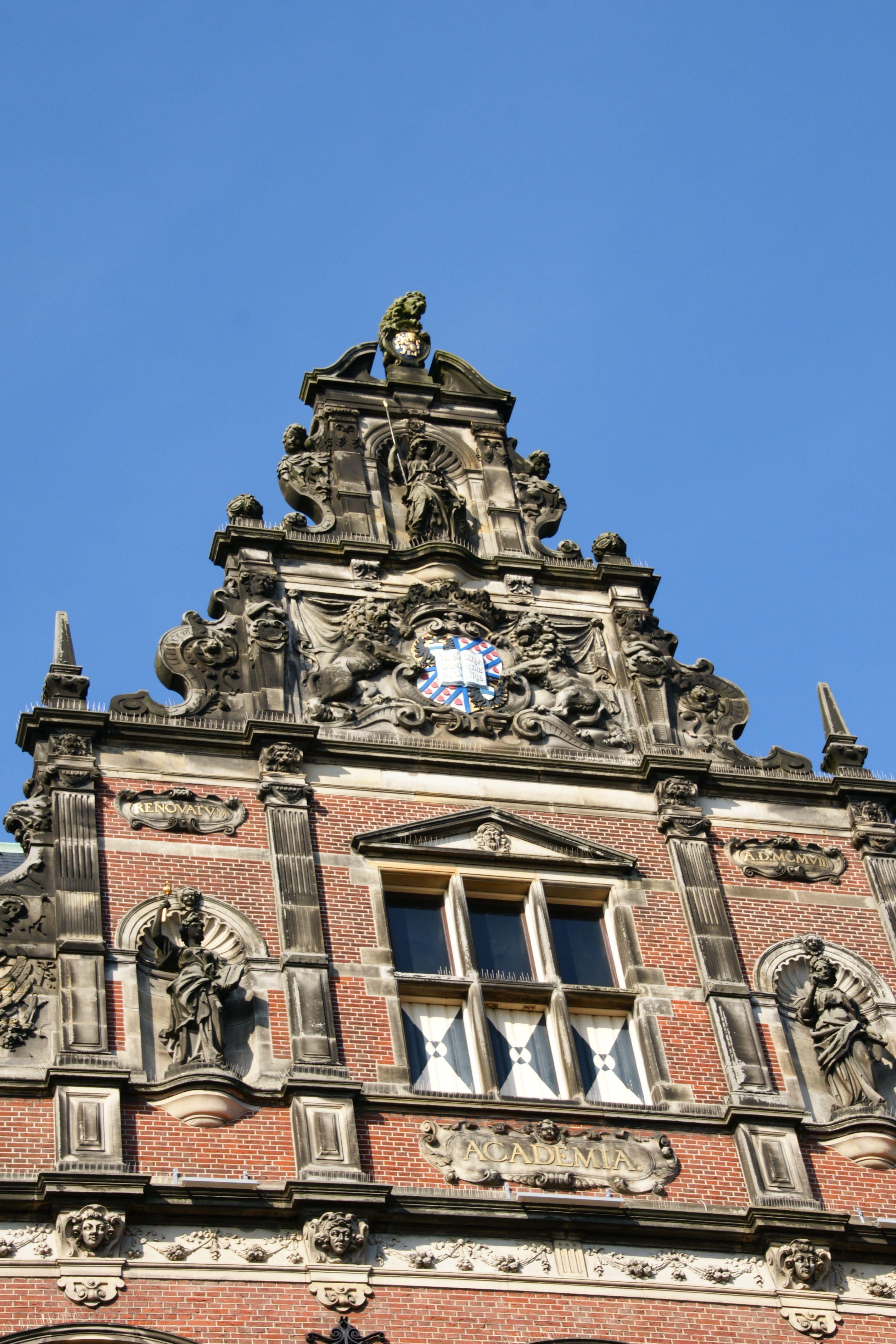 Rijksuniversiteit Groningen Rug Groningen Nederland Stad