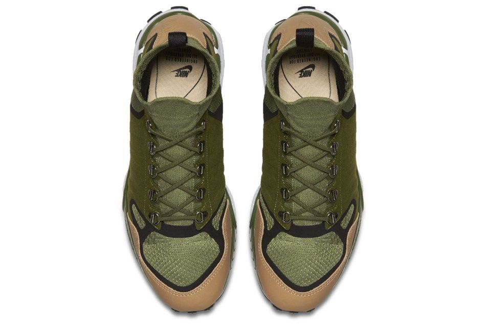The Nike Air Zoom Talaria Mid Flyknit Gets a Military Green Colorway ... d4803783d