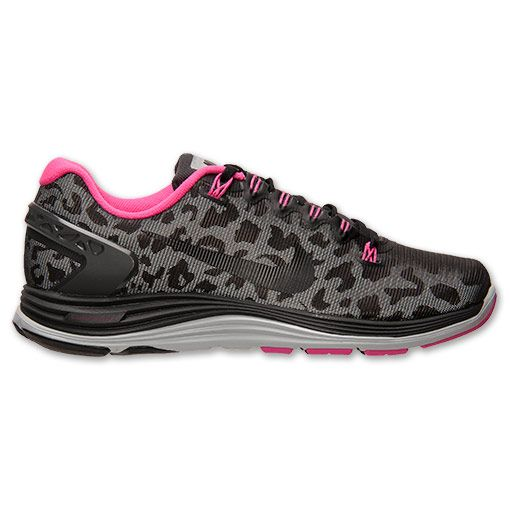watch 1667c d765b nike womens lunarglide 5 pink leopard