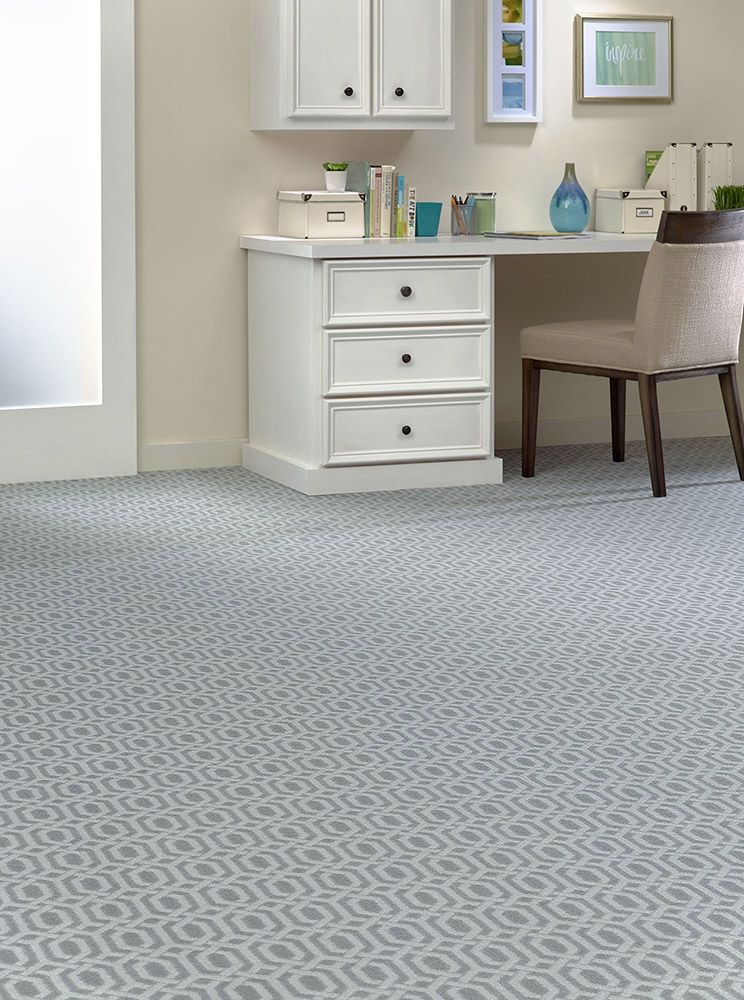 Patterned Carpet Can Help Create An Inspiring Home Office! | Home Office  Inspiration