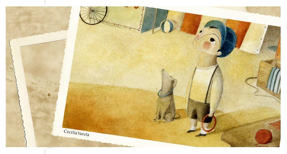 """""""Checo"""" illustration by Cecilia Varela"""