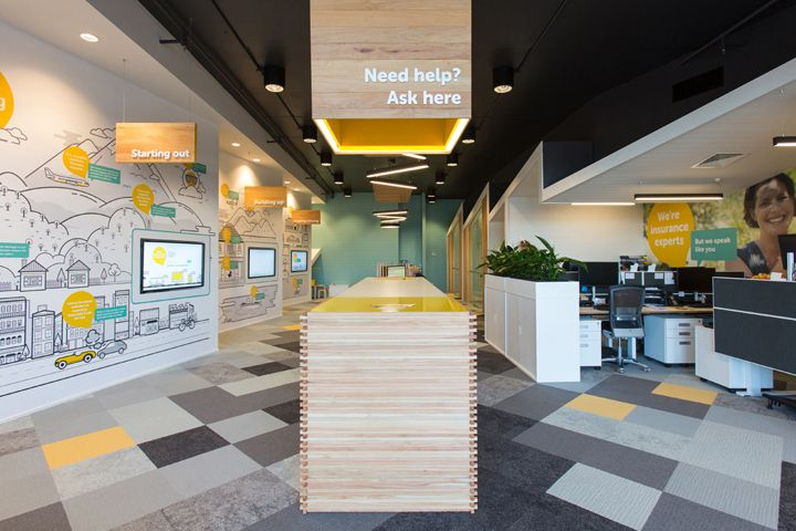 Ami office by rcg nationwide new zealand retail design for Office design new zealand