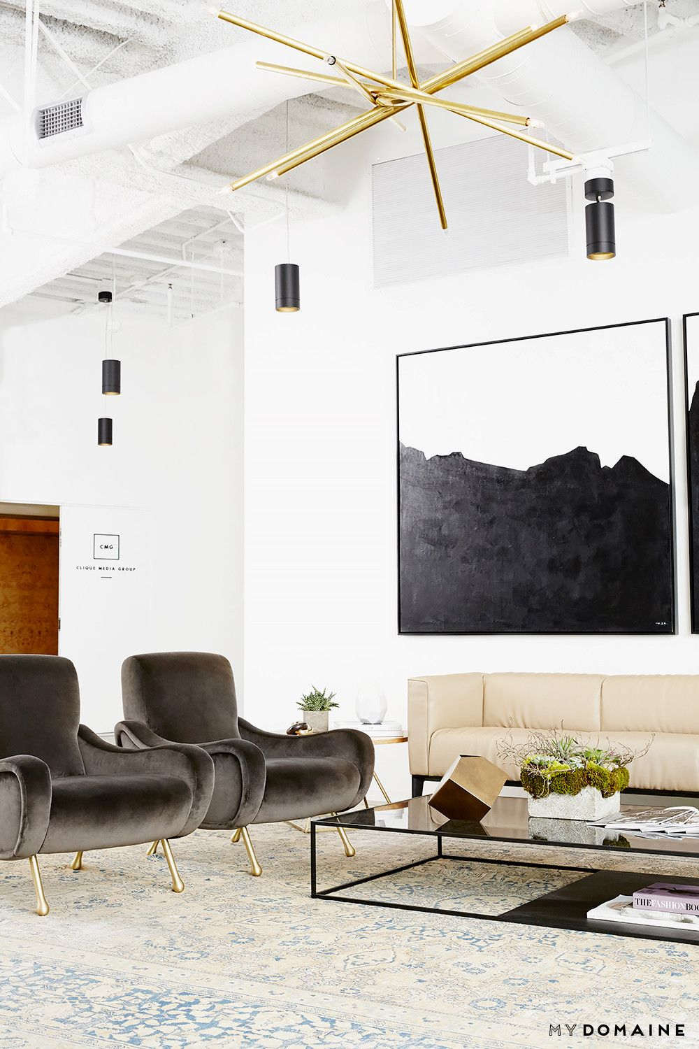 Inside Our Striking MyDomaine Office in Los Angeles | Los angeles ...