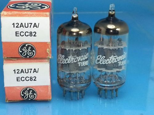 Ge 12au7 A Ecc82 Vacuum Tube Curve Tracer Matched Pair Sweet Tone G04 Vacuum Tube Vacuums Tracer