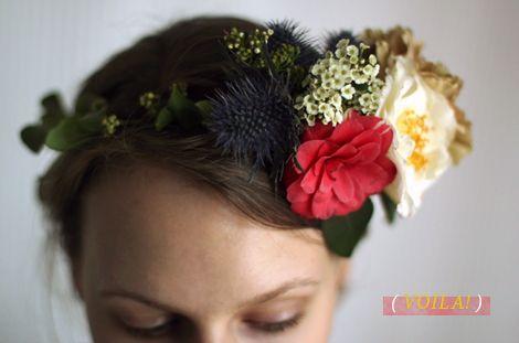 Fashioned Florals, Flower Crown - The Nouveau Romantics for Oh Joy