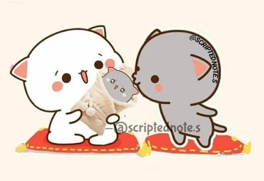 Pin oleh Snigdha di LOVE! | Seni kucing, Kartun, Gambar lucu
