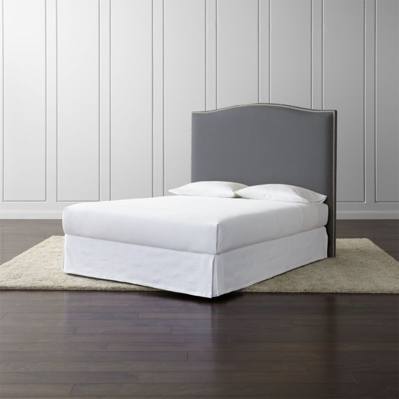 Colette Upholstered Headboard 60 Crate And Barrel California