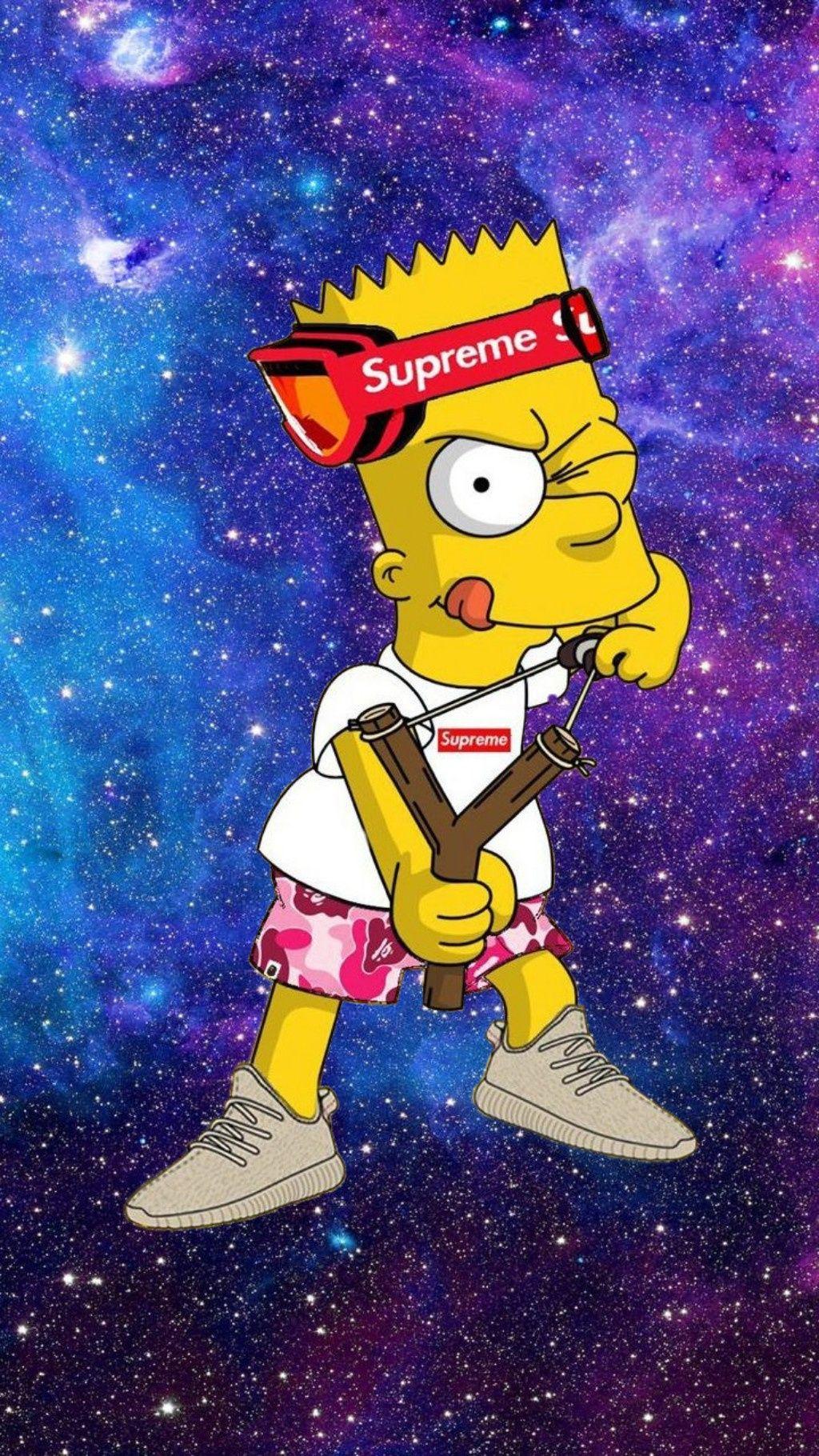 Bart Simpson Supreme Bart Simpson Art Bart Simpson Simpsons Art
