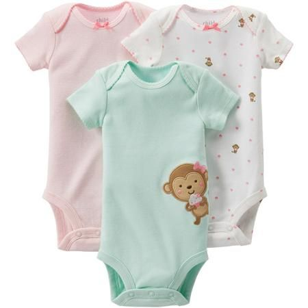 0dc7710ed Child of Mine by Carter s Newborn Baby Girl Bodysuits