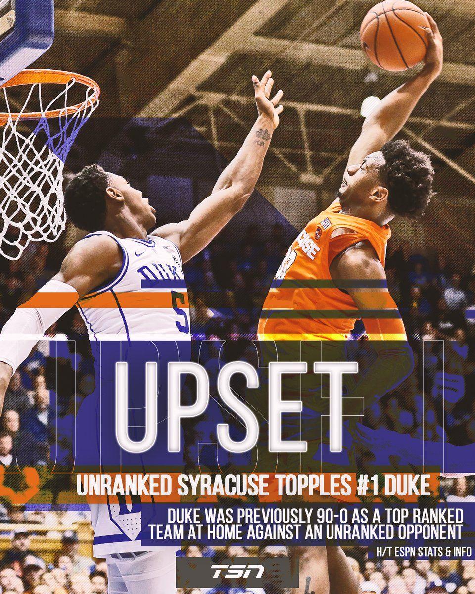 My Syracuse Orange With A Huge Upset Syracuse Orange Basketball Syracuse Basketball Syracuse Orange