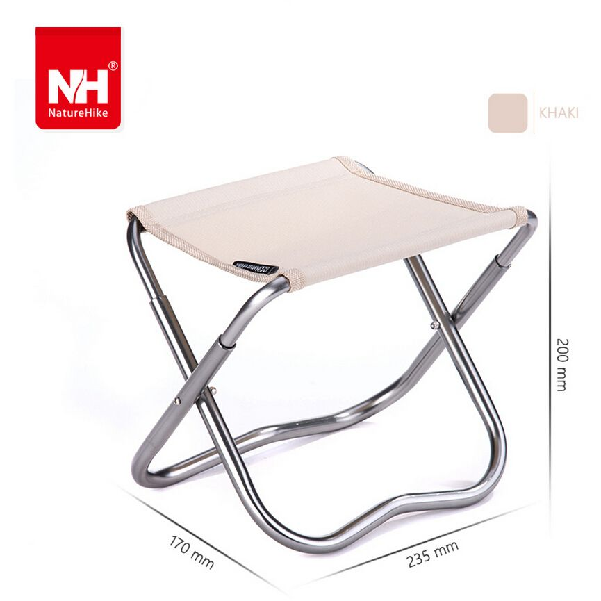 Fresh Heavy Duty Portable Folding Stool