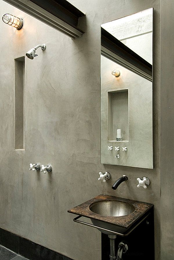 Industrial Bathroom Design Ideas and Inspiration if you just got the right  amount of space and the budget  Go through the images given below for a  clear vie. Key Traits of Industrial Interior Design   Industrial interior