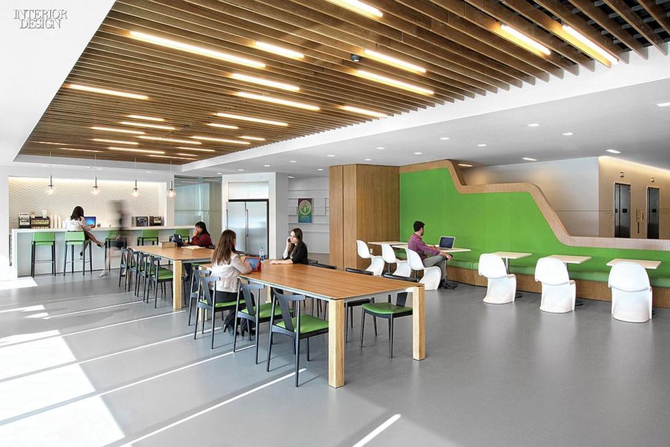 GENSLER BREAK ROOM Source 30 Amazing Spaces to Work Interior
