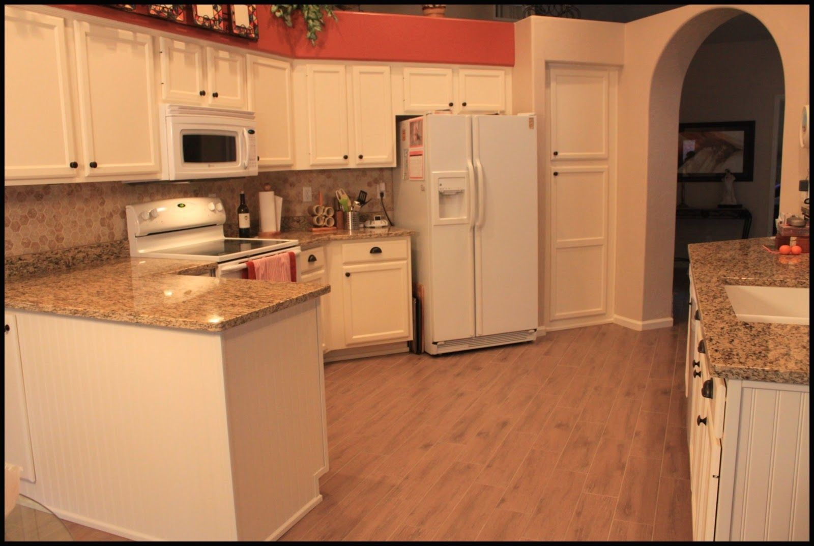 brown painted kitchen cabinets with white appliances color appliances for the kitchen colored 111
