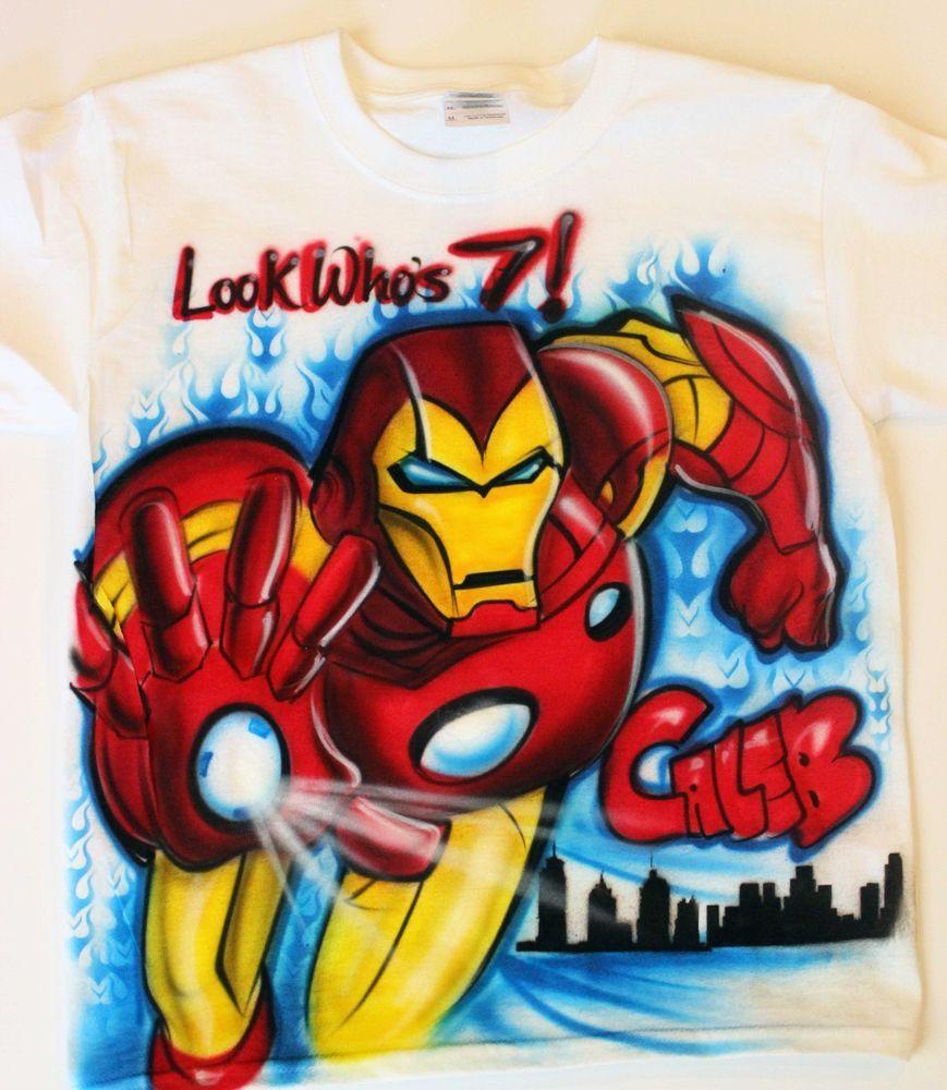 Cool Iron Man Shirt