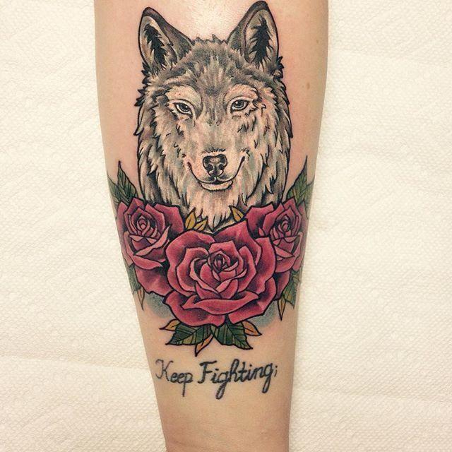 73ce137c2 70 Tatuagens de Lobo Impressionantes (melhores fotos!) | Tattoos ...