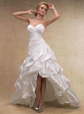 RoseSatine | Robe de mariée asymétrique,