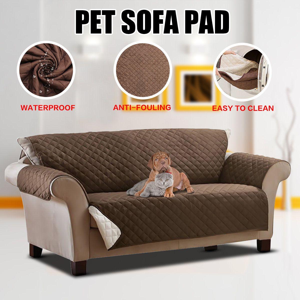 Pet Dog Couch Loveseat Sofa Cushion Pad Furniture Antifouling Protector Cover Waterproof Capa De Sofa Capa Pra Sofa Tapetes
