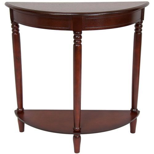 Cherry XA-TABLE3-CRY ORIENTAL FURNITURE 31 Classic Design Hall Table