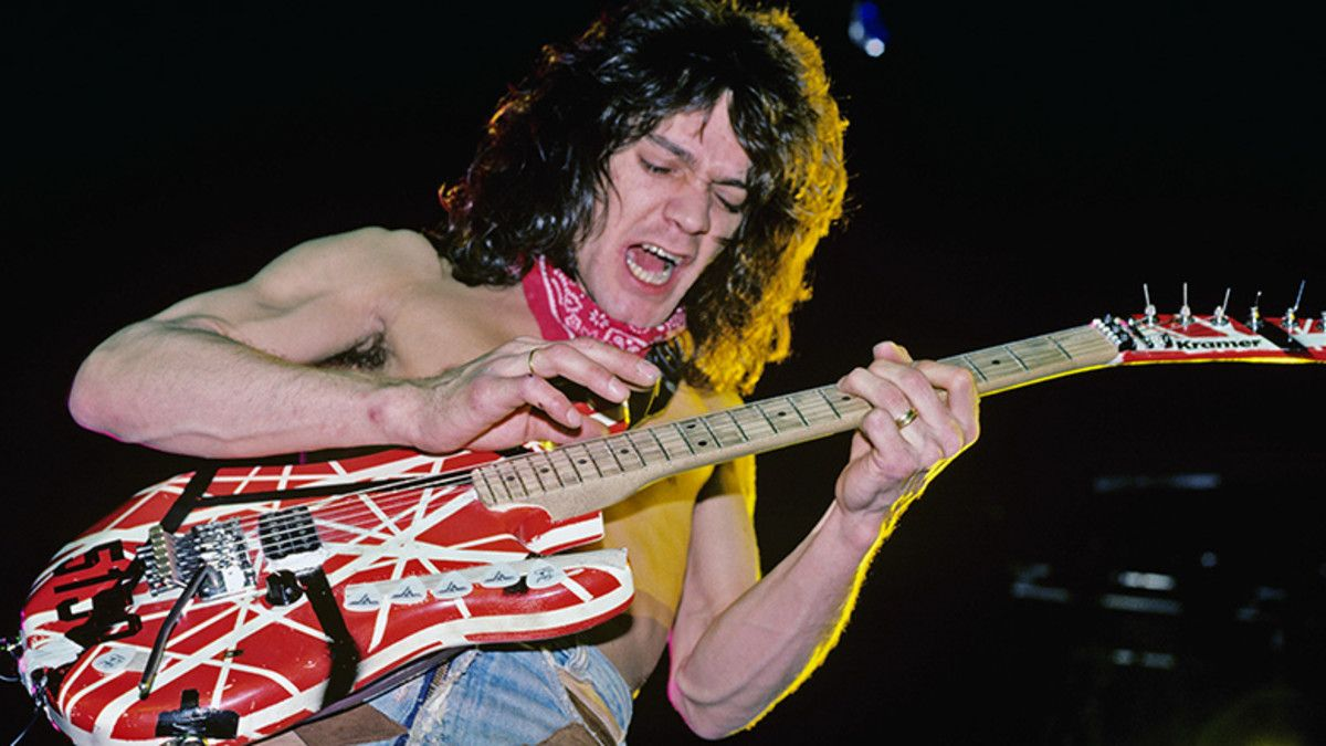 Pin By Dave Thorpe On Trs Eddie Van Halen Van Halen Latest Albums