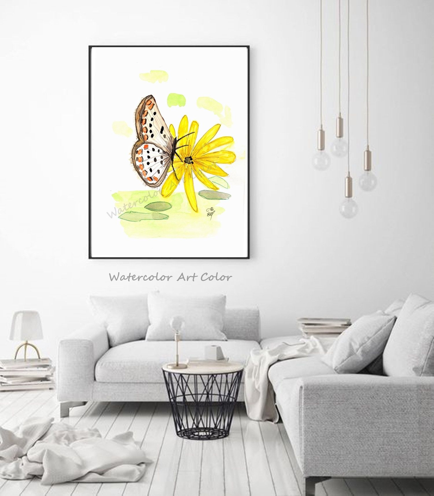 Daisy Fine Art Giclee Print, Pastel Painting By Jan