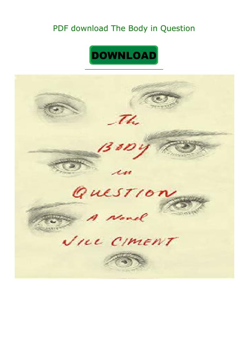 Pdf Download The Body In Question Ebook Pdf Download Read