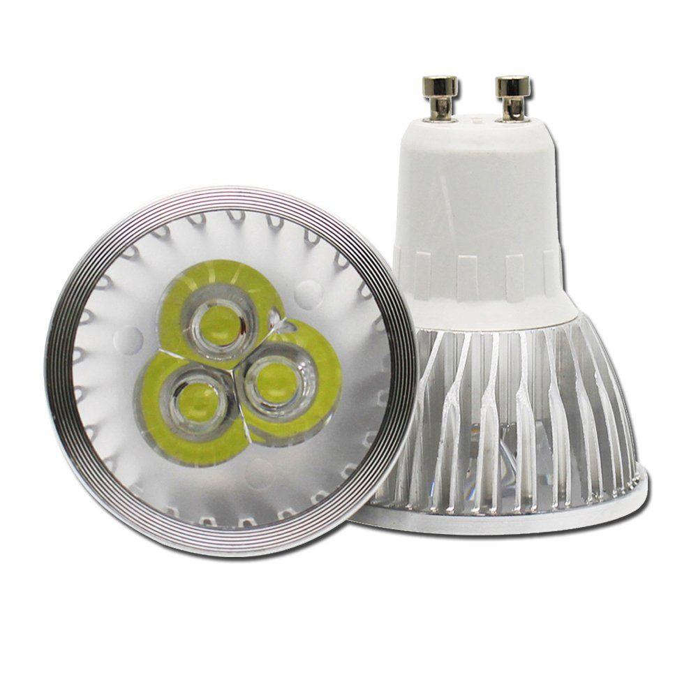 10Pack 3W GU10 Led Bulbs Cool White 30W Equivalent